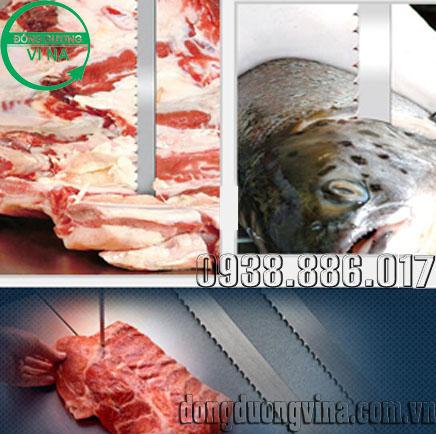 Lưỡi cưa xương - thịt cá đông lạnh